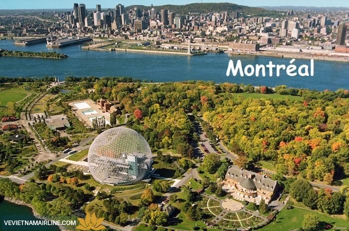 Vé máy bay Hà Nội đi Montreal giá rẻ