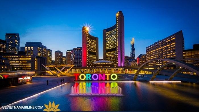 Vé máy bay TPHCM đi Toronto giá rẻ