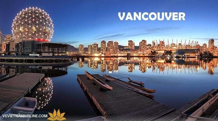 Vé máy bay đi Vancouver từ Sài Gòn
