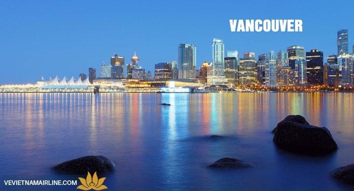 Vé máy bay đi Vancouver từ Hà Nội