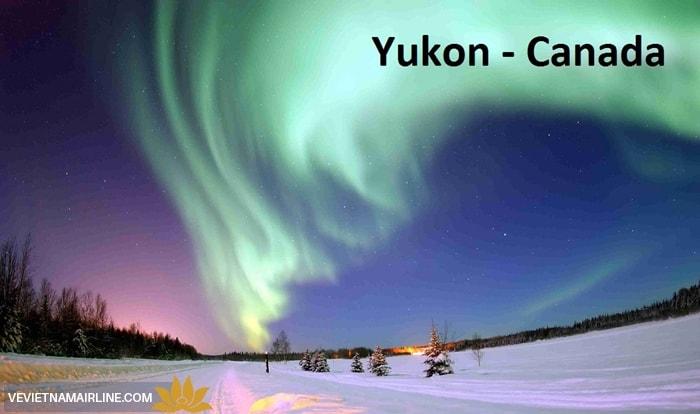 Vé máy bay đi Yukon
