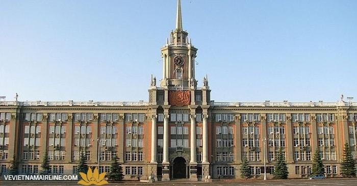 Các điểm tham quan hấp dẫn nhất ở Yekaterinburg Nga