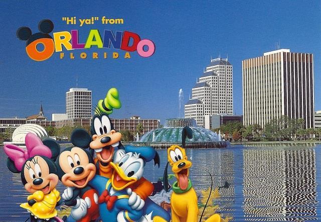 Vé máy bay đi Orlando giá rẻ