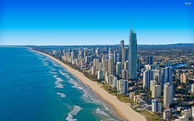 Vé máy bay Gold Coast giá rẻ