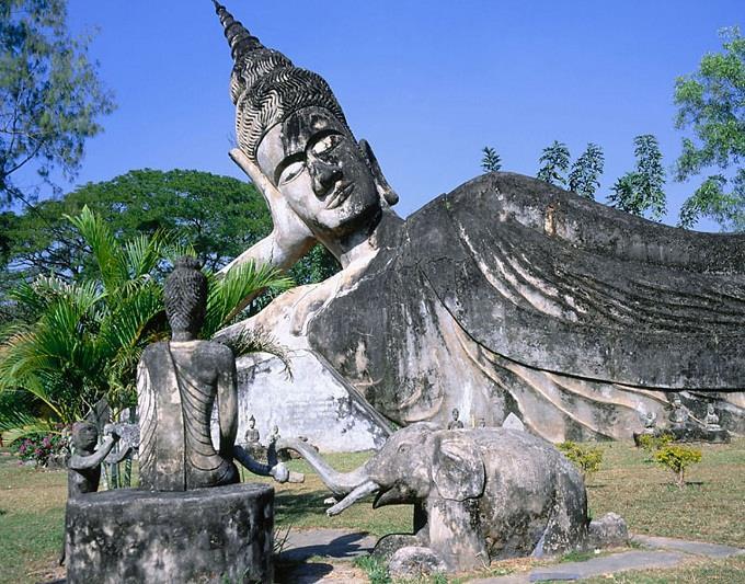 Vé máy bay đi Lào