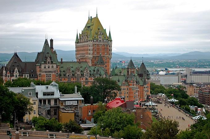 Vé máy bay đi Quebec từ Hà Nội