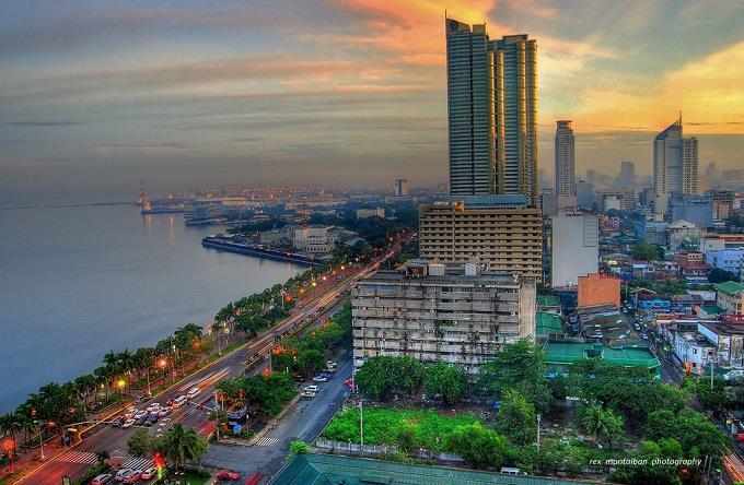 Vé máy bay đi Manila từ Sài Gòn
