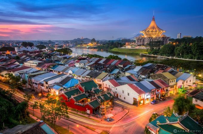 Vé máy bay đi Kuching từ Hà Nội