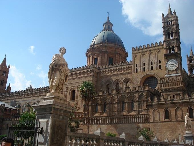 Vé máy bay đi Palermo từ Sài Gòn