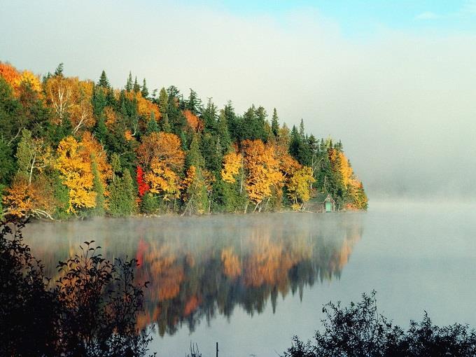 Lãng mạn mùa thu Canada