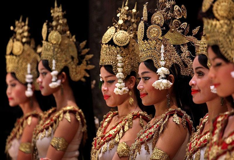 Vé máy bay đi Siem Riep từ Hồ Chí Minh