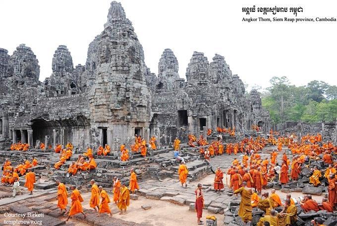 Ghé thăm Angkok Thom