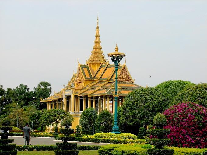 Vé máy bay đi Campuchia từ Sài Gòn