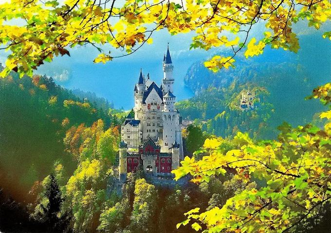 Thăm lâu đài Neuschwanstein cổ tích