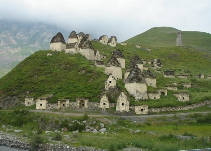 Làng nghĩa địa ở Nga