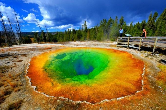 Thám hiểm Yellowstone, Mỹ