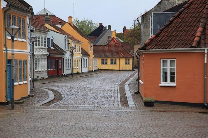 Tới Odense thăm nhà Andersen