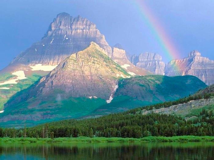Waterton Glacier- công viên của tình hữu nghị
