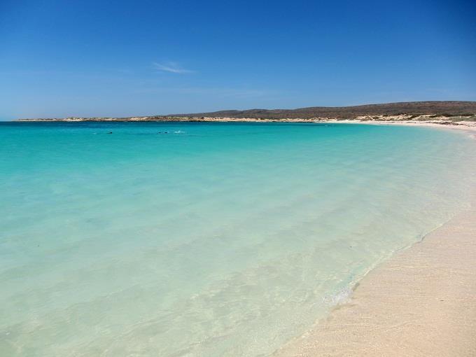 Mênh mông bờ biển Ningaloo, nước Úc