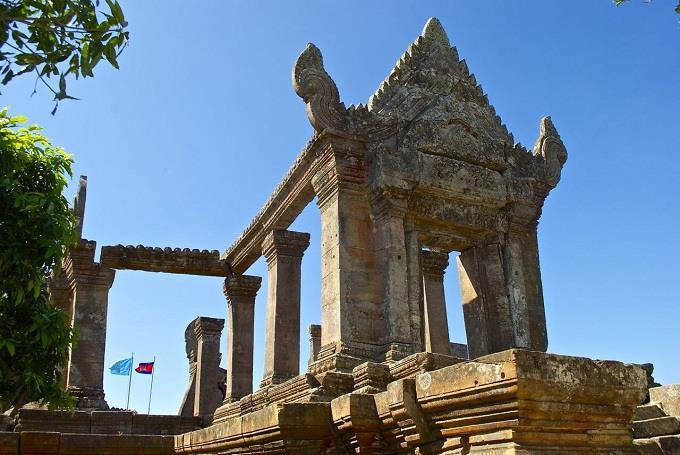 Đền Preah Vihear, di sản thế giới của Campuchia