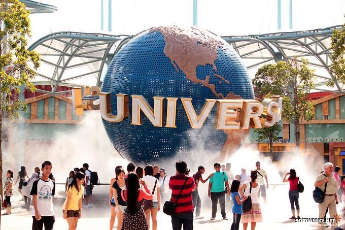 Khám phá công viên chủ đề Universal Studio Singapore