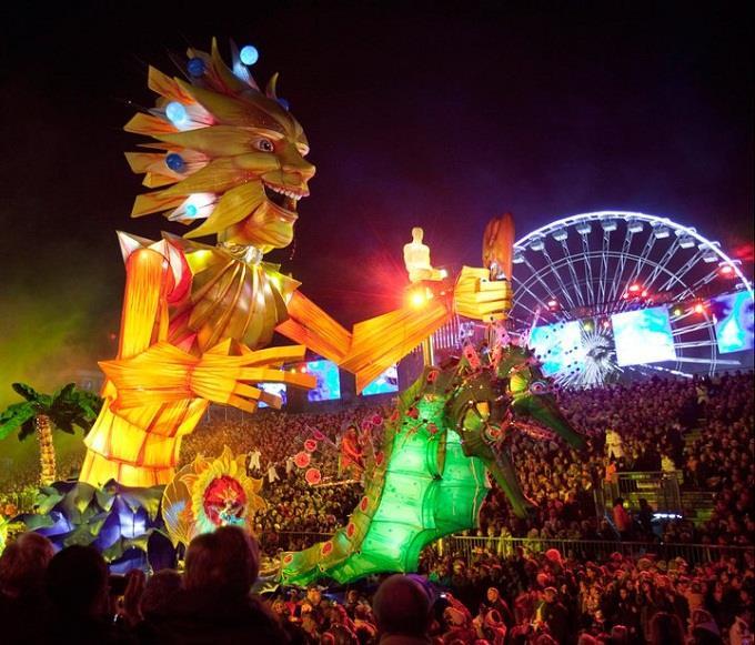 Nice Carnival – Lễ hội mùa đông lớn nhất ở Côte d'Azur
