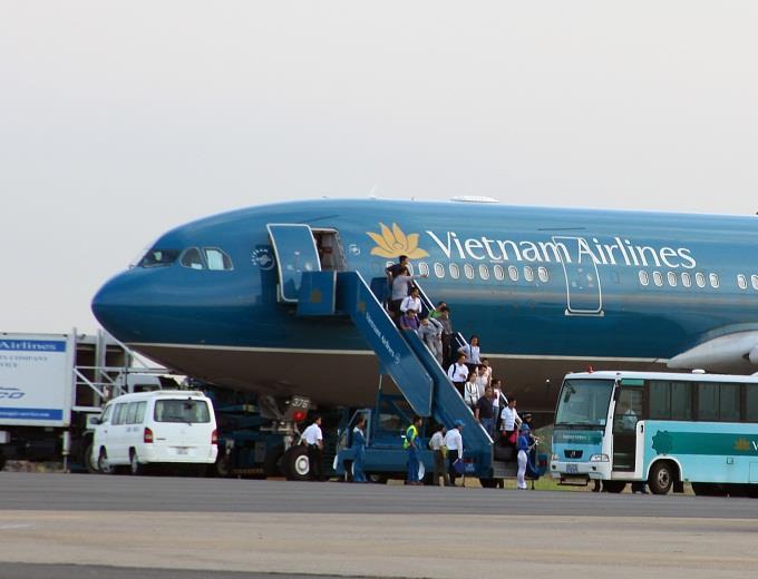 Vietnam Airlines tăng cường 147 chuyến bay dịp mùng 2/9