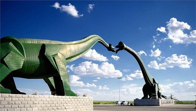 Ghé thăm Công viên khủng long Alberta