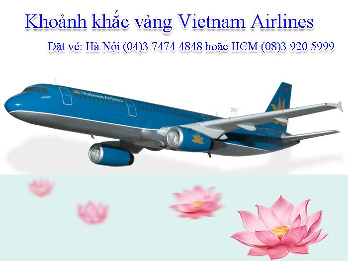 Khoảnh khắc vàng Vietnam Airlines