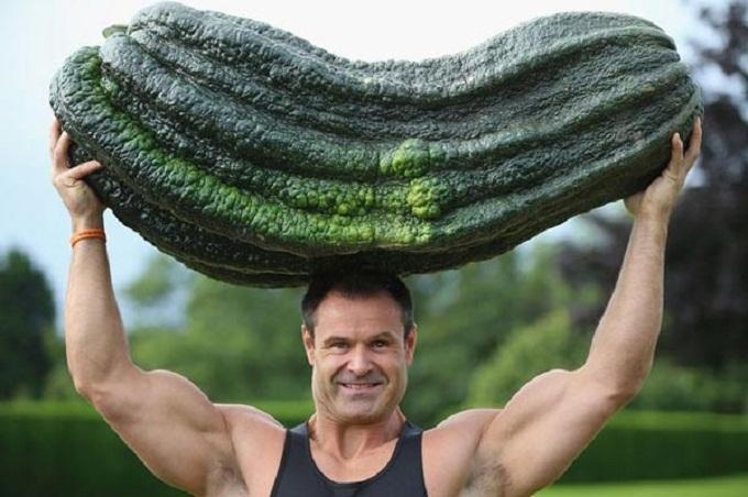 Sẽ có thực đơn từ rau quả khổng lồ ở Anh