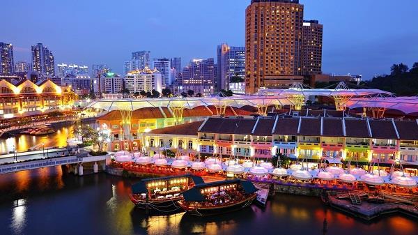 Clarke Quay - điểm vui chơi hấp dẫn ở Singapore