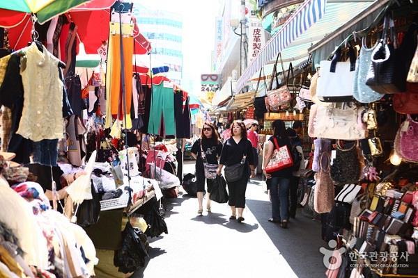 Namdaemun - khu chợ trời tuyệt vời ở Seoul