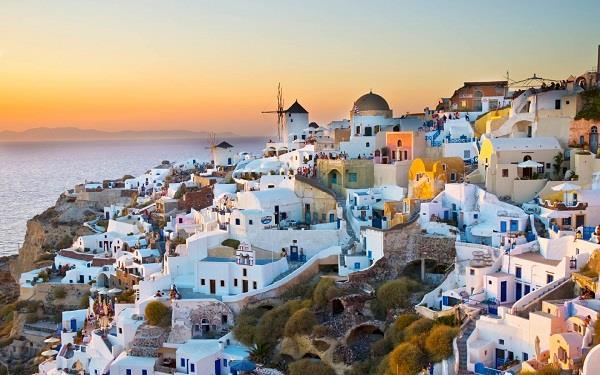 Santorini - hoàn đảo của những thiên thần ở Hy Lạp