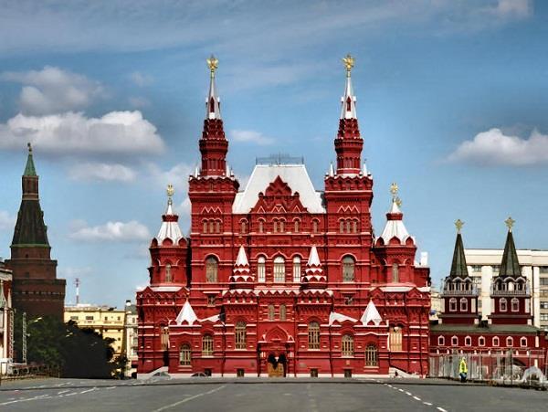 Những điểm du lịch nổi tiếng của Moscow
