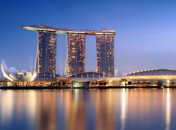 Marina Bay Sand - công trình kiến trúc nghệ thuật của Singapore