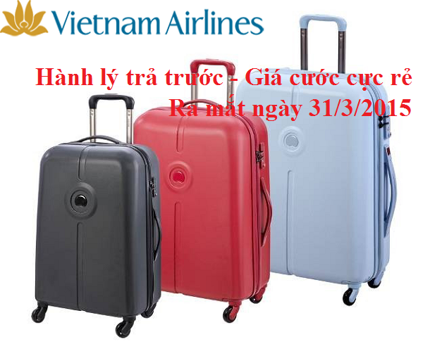 Vietnam Airlines mở dịch vụ mua hành lý trả trước