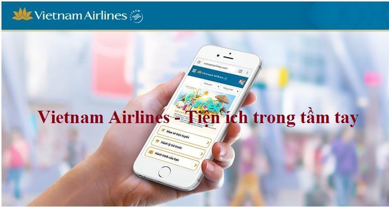 Bay cùng Vietnam Airlines - tiện ích ngay trong tầm tay