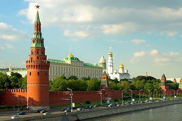 Cung điện Kremlin - biểu tượng hình ảnh Nga