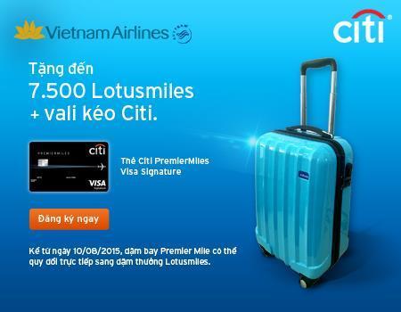Vietnam Airlines ưu đãi dặm bay cho hội viên Bông Sen Vàng