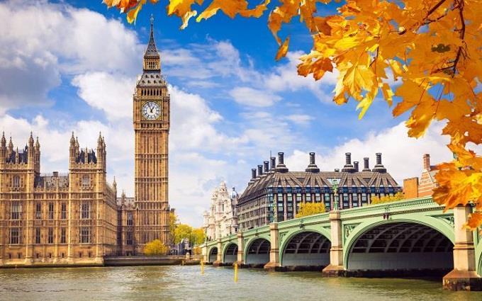Những điểm đến lãng mạn ở nước Anh