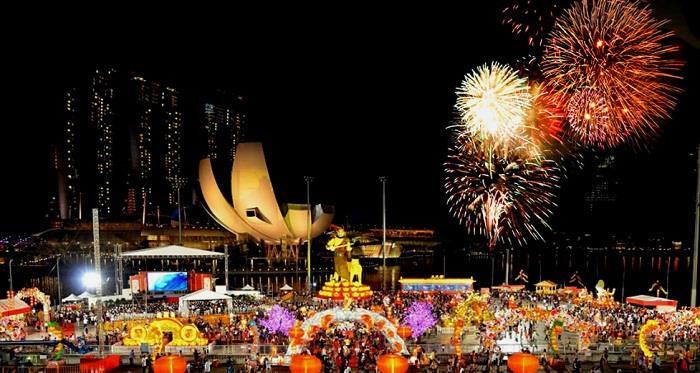 River Hongbao, lễ hội mùa xuân ở Singapore