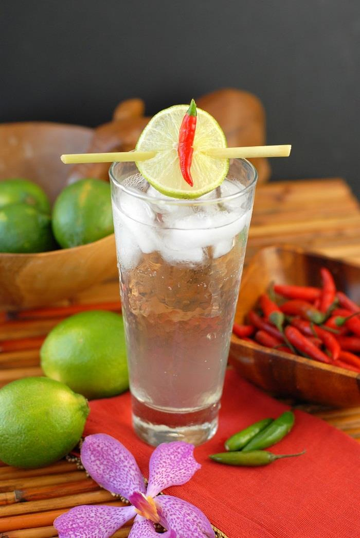 Cocktail Siam Sunray, Thái Lan