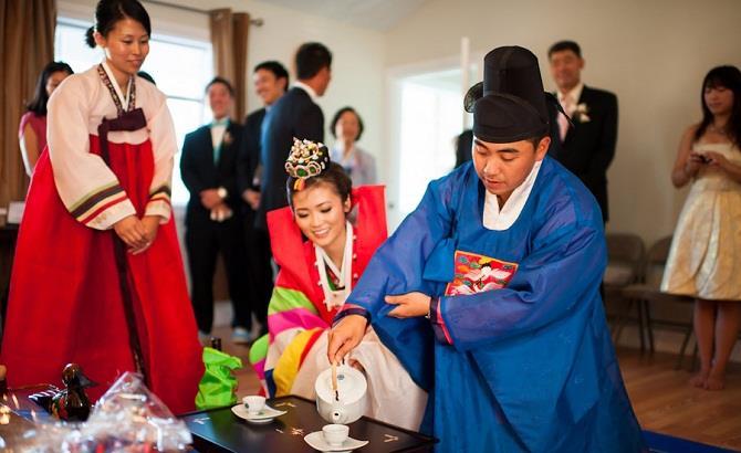 Phong tục cưới xin truyền thống của người Hàn Quốc
