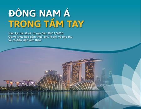 Khuyến mãi đi Đông Nam Á giá rẻ chỉ từ 50 $