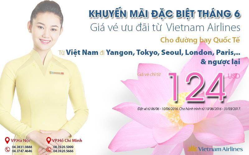 5 ngày vàng vé rẻ, bay cùng hoa Sen trải nghiệm Quốc tế