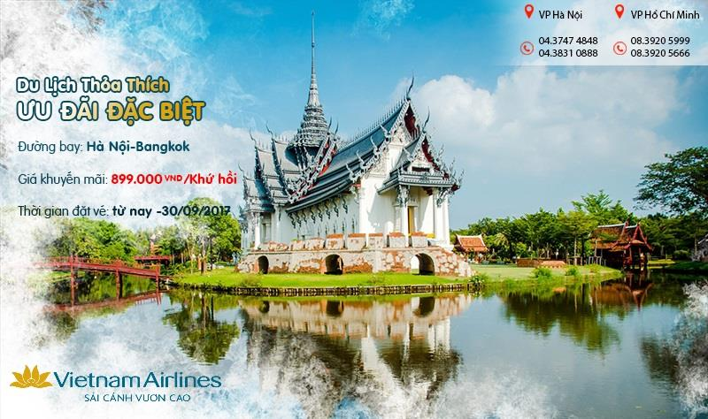 Du lịch Bangkok rẻ hết nấc với vé khứ hồi chỉ từ 899.000 VND siêu tiết kiệm