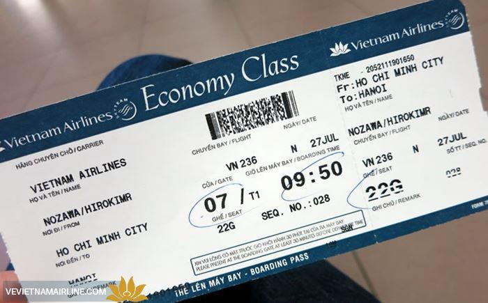 ve may bay vietnam airlines