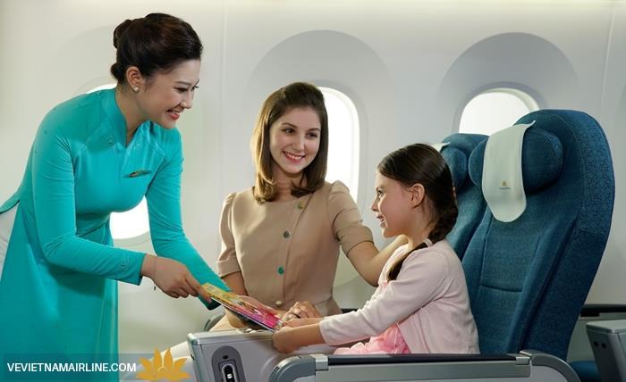Trẻ em đi máy bay cần mang những giấy tờ gì ?