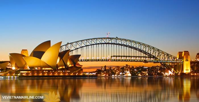 Chỉ từ 700USD đi Úc tự túc mọi lúc với ưu đãi vé Vietnam Airlines