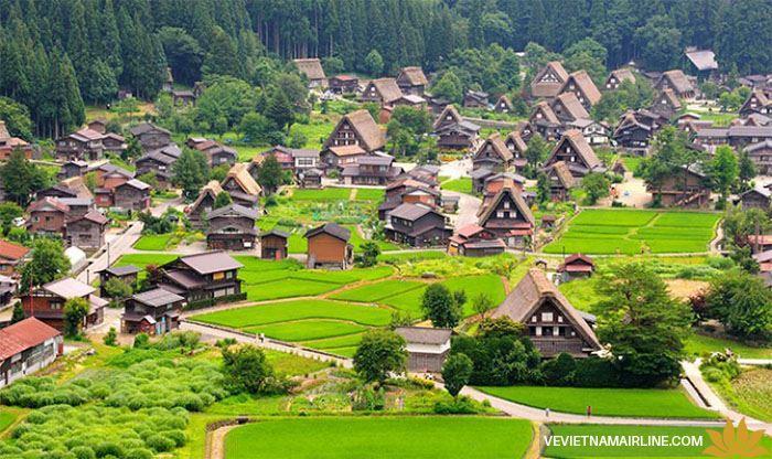 Khám phá 2 ngôi làng cổ ở Nhật Bản với kiến trúc gassho-zukuni độc đáo